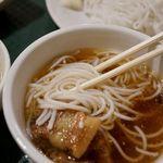 チャオハノイ - ブン・チャー・ハノイセット(ベトナム風つけ麺セット) 900円