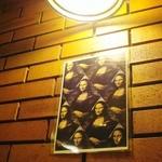 カフェモナリザ - 店名のモナリザの絵が、店内に何点も飾ってある