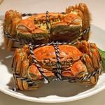 シェフス - 上海蟹蒸し 雄雌