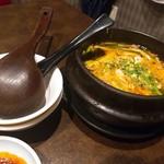 焼肉 かくら - ユッケジャンスープ