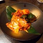 焼肉 かくら - キムチ3種盛り