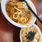 山田うどん - 料理写真:麻辣うどん 辛いだけじゃなくて、コクがあって美味しい