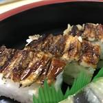 豊福 - 穴子箱寿司はハーフでお願いしました(2019.11.24)
