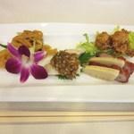 chuugokuryouritouri - 前菜3種