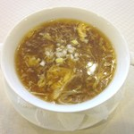 chuugokuryouritouri - 牛肉とろみスープ