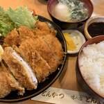 120381428 - とんかつ定食  1000円(税込)