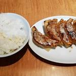たかばしラーメン - 餃子セット