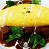 てんしの森 - 料理写真:タンシチューのオムライス