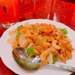 良記 餃子酒場 - 鶏肉とカシュナッツ炒め