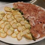 熟成肉 貸切 FORST6丁目 - イタリア産生ハム・シェフオリジナルレバーペースト