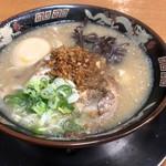 120385559 - 半熟卵入り豚トロラーメン(1000円)