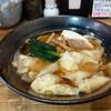 麺ごころ佑庵 - 料理写真:椎茸と海老のわんたん麵~☆