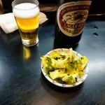 川二郎 - きゃべつと瓶ビール