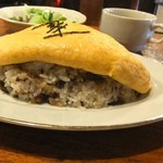 Nanatsumori - しぐれ煮が混ざったライス。