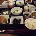 豆花 - 豆花 割子コース(1180円)
