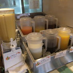 ドルチェピアットカフェ - 料理写真:ドリンク広場