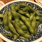 炉ばた焼 妻籠 - 箸休めの枝豆