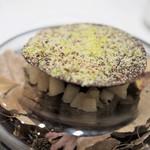 ラチュレ - チョコレート ブーダンノワール ラフランス ピスタチオ キャラメルアイス 栗のスープ