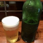 ちょい虎 - 「ハートランドビール」小瓶。500円也。