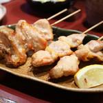高蔵寺ダイニング おばんどり - ふりそで串焼き・肉付きヤゲン軟骨