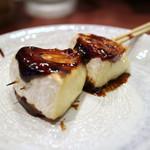 高蔵寺ダイニング おばんどり - カマンベール串焼き(味噌)