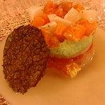 ラトリエ - 前菜:サーモンのマリネ