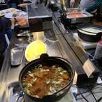 レストラン ラ・ベランダ - 広島レモン鍋