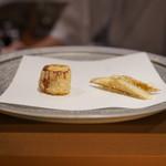 天ぷら 酒菜 醍醐 - 葱と牛蒡