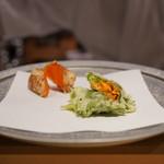 天ぷら 酒菜 醍醐 - 雲丹