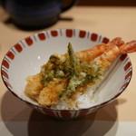 天ぷら 酒菜 醍醐 - 天丼