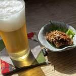 120411246 - 蕎麦味噌。ご飯が欲しくなるお味。