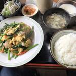 中国家庭料理 香福園 - 海老と玉子炒め