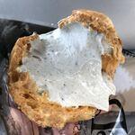 キンセイドウ - 極薄皮はざくっとほろっと儚く崩壊。トロトロの胡麻クリームがタプタプ最高!