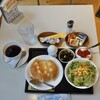 柿ん木 - 料理写真:Aモーニング1,100円、本来は食パントースト