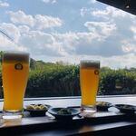 岡山後楽園 福田茶屋 - 和紅茶ビール