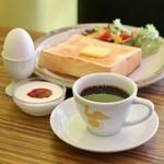 喫茶モーニング - ブレンドコーヒー