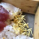 蔵Pura 和膳 風 - 帰し寿司の底に沈んだ錦糸たまご