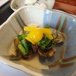 東会芳 - アサリと菜の花の香り蒸し