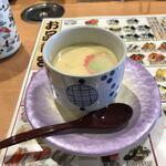 回転寿司 花いちもんめ - 茶碗蒸し