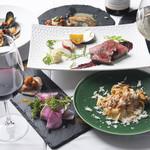 イルバンビーノ - 料理写真:コース料理の1例