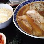 ラーメン麺座 - ラーメン定食