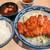 はしや - ロースカツ定食(ご飯大盛) 700円(大盛=同価格)