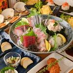 鎌倉 仕立屋 小町通り - すだち鶏と新鮮お刺身を楽しむコース 四五〇〇円