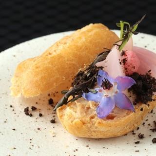 古典料理を自身のフィルターを通してレストラン料理へ昇華