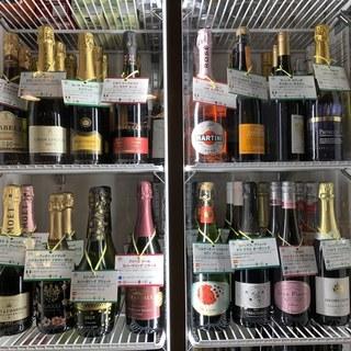 酒屋さんもビックリのスパークリングは26種類2200円~!!