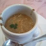12045240 - アバサー(ハリセンボン)のスープ