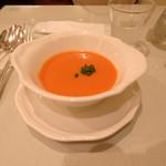 ジュリス ティールームス - トマトクリームスープ
