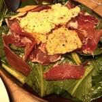 船橋ワイン食堂 862 - チーズと小松菜のサラダ