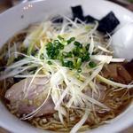 八ヶ岳ラーメン 麺八 - 風ねぎラーメン ¥980-