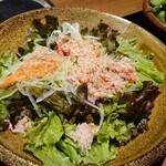 個室 藁焼き 日本酒処 龍馬  - 海鮮サラダ